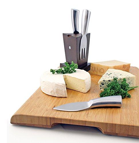 Swissmar 3-Piece Mini Cheese Knife Block Set