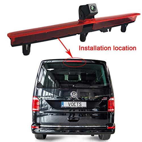 Auto derde dak remlicht montage bovenste blik achteruitrijcamera voor VW T5 bus Transporter Multivan Caravelle/bedrijf met derde deur achter derde lichtbundel