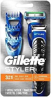 Gillette Fusion ProGlide Men's Razor Styler 3-In-1 Body Groomer and Beard Trimmer, Mens Razors / Blades