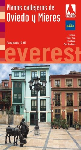 Planos callejeros de Oviedo y Mieres (Planos callejeros / serie roja)