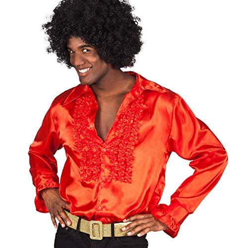 Générique Chemise Disco Rouge Homme XL