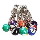 Llavero bola billar: Amazon.es: Juguetes y juegos