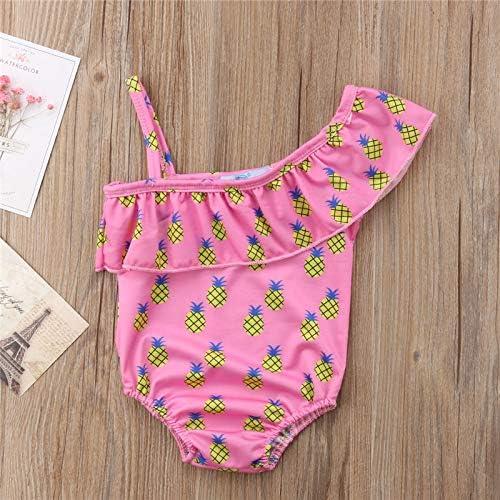 YIXING Summer Baby 5 ☆ very popular Children Girl's R Shoulder Kid's Swimsuit famous Off