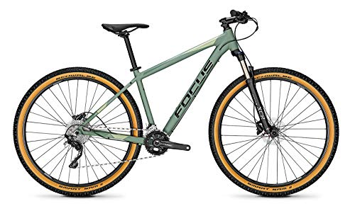 Derby Cycle Focus Whistler 3.8 27.5R Mountain Bike 2021 (S/40cm, Mineral Green)