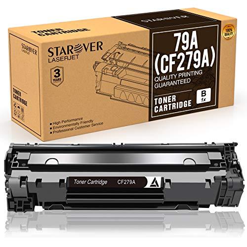 STAROVER Cartucho de Tóner Compatible Repuesto para HP 79A CF279A para HP LaserJet Pro MFP M26 M26nw M26a HP LaserJet Pro M12 M12w M12a Impresora (1 Negro)