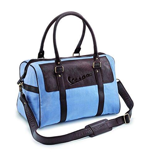 Vespa 605384M00C - Bolso de piel, color azul