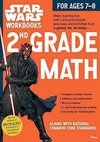 2nd Grade Math (Star Wars Workbook)