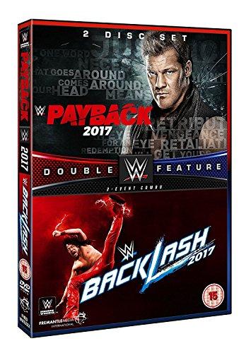 WWE: Payback 2017 + Backlash 2017 [DVD] [UK Import]
