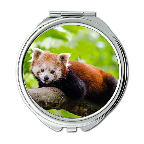 Yanteng Spiegel, Schminkspiegel, süßes Tier niedlich, Taschenspiegel, tragbarer Spiegel