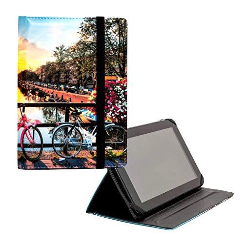 ANVAL Funda para Tablet 7', 8', 9,7', 10,1' - Universal - Personalizable, Compatible Tableta 7, 8, 9.7, 10.1 Pulgadas (EST. 61)