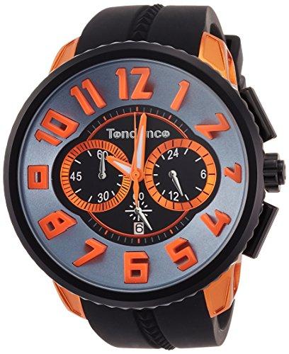 [テンデンス] 腕時計 Altec Gulliver ブラック文字盤 TY146003 正規輸入品 ブラック
