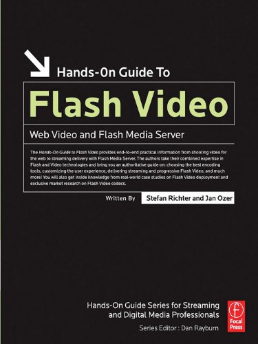 Hands-On Guide to Flash Video: Web Video and Flash Media Server (Hands-On Guide Series) (English Edition) eBook: Richter, Stefan, Ozer, Jan: Amazon.es: Tienda Kindle