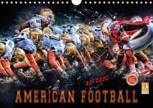 American Football - so cool (Wandkalender 2021 DIN A4 quer)