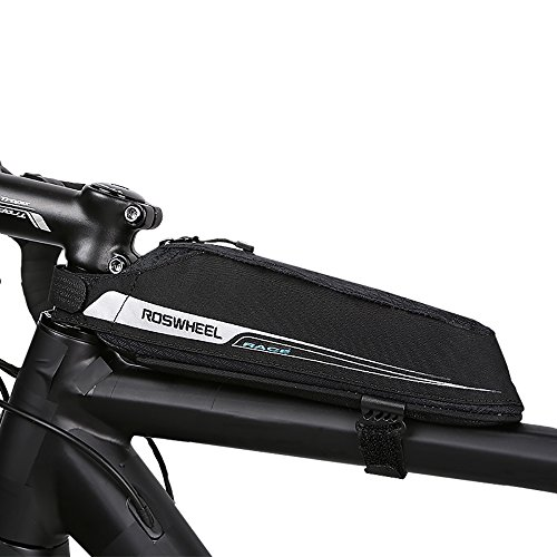 petit un compact Roswheel Bike Bag, Sac de vélo de course Sac de vélo Matière Jacquard Cycling 2018…