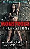 Monstrous Penetrations: Monster Erotica 4-Book Bundle