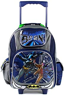 Large Rolling Backpack - DC Comic Batman vs 2-faces New Bag Boys 491451