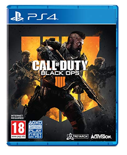 Juegos Ps4 Call Of Duty Black Ops 4 juegos ps4 call of duty  Marca ACTIVISION