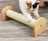 N\C 53cm Columna para rascar Gato Marco de Escalada para Gatos Juguetes para Mascotas Tablero para rascar Gatito Poste rascador montado en la Pared Rascador Árbol de sisal