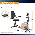 Fitness Equipment Shopping Marcy Recumbent Exercise Bike with Resistance ME-709