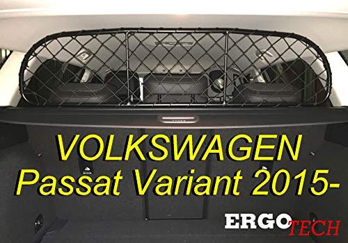 ERGOTECH Rejilla Separador protección para Volkswagen Passat RDA65-S, para Perros y Maletas....