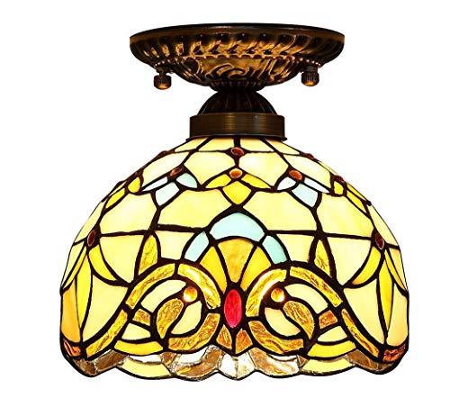 Hanglamp Tiffany 8 inch handlamp barok plafondlamp plafondlamp E27 max 40W
