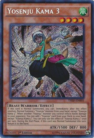 Yu-Gi-Oh! - Yosenju Kama 3 (THSF-EN005) - The Secret Forces - Unlimited Edition - Secret Rare by Yu-Gi-Oh!