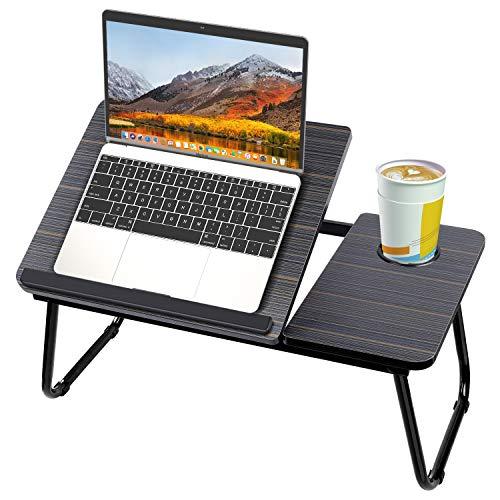 Sannobel Mesa plegable para portátil para cama, bandeja de cama, sofá portátil,...
