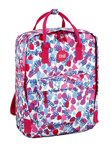 United Colors of Benetton Vicky Martin Berrocal Be Offizieller Rucksack mit Griffen, 270 x 130 x 380 mm