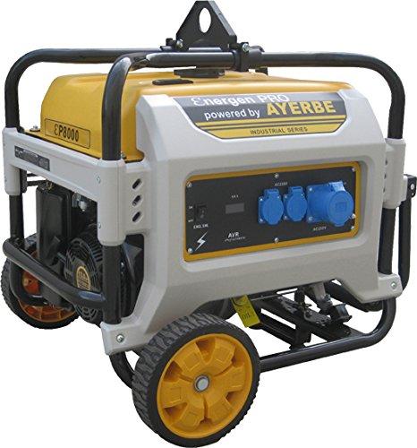 Ayerbe ENER-GEN PRO 8000 Generador, 6500W