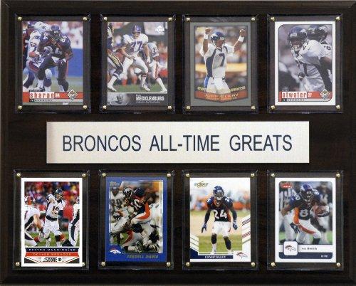 NFL Denver Broncos All-Time Greats Plaque