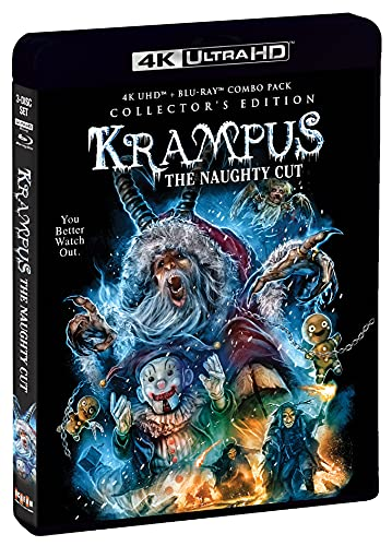 Krampus - The Naughty Cut Collector's Edition 4K Ultra HD + Blu-ray