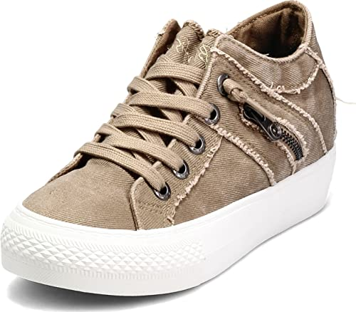 Blowfish Melondrop Taupe Hipster Smoked Twill 8 M