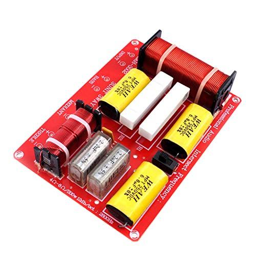 Baoblaze Diviseur de Fréquence de Filtre Audio Filtre de Croisement de Haut-Parleur 250W Hi/Mi/Lo