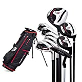 Founders Club Tour Tuned Men's Complete Golf Club Set with Bag (Regular Graphite, Left)