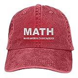 Math Andrew Yang 2020 Adult Cowboy Hat Woman Man Outdoor Hat Adjustable