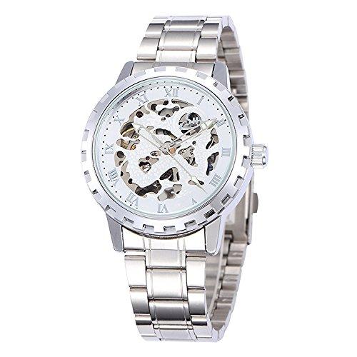 SJXIN Orologio meccanico di alta qualità, Shenhua / 9560B orologio meccanico automatico cava drago maschile (Color : 2)