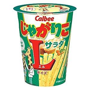 """カルビー じゃがりこサラダLサイズ 72g×12個"""""""