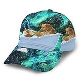 Gorra de béisbol para perro o gato en la bañera, diseño de burbujas, unisex, color negro