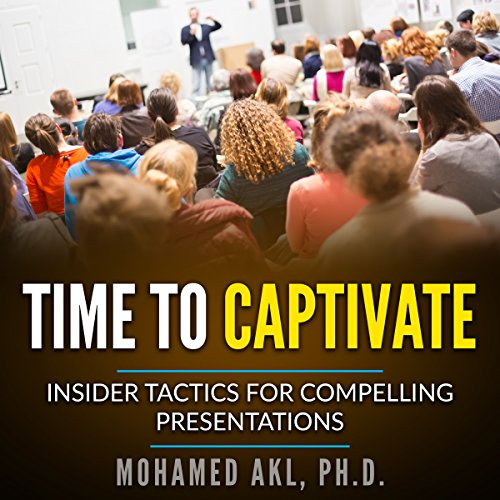 Time to Captivate audiobook cover art