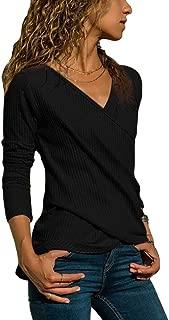 TOP T SHIRT SOUS PULL STRETCH FEMME MANCHES LONGUES RAFAELA NOIR TAILLE S//M//L//XL