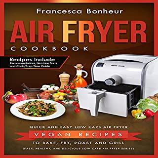 Air Fryer Cookbook cover art