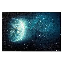 森の小屋 星空の宇宙 ジグソーパズル1000枚 木のパズル 趣味パズル 減圧パズル 親子パズル 装飾画 壁画