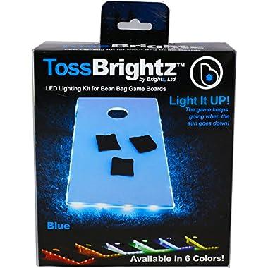 Brightz, Ltd. Toss Brightz Cornhole LED Lighting Kit (Lights Only), Blue