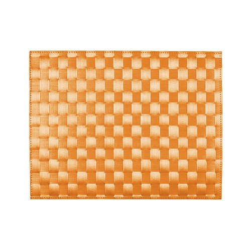 Tischset 30x40cm eckig orange