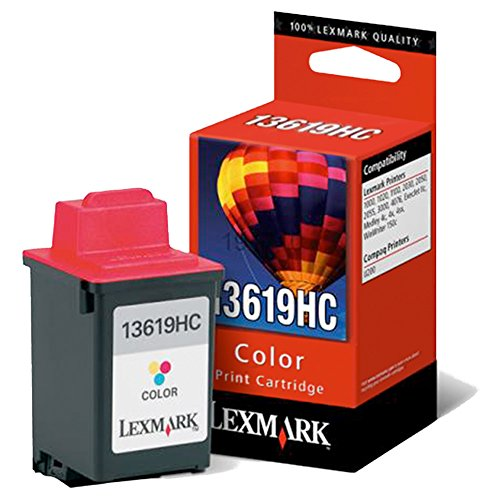 Lexmark 13619HC - Cartucho de tinta para impresora Lexmark, tricolor