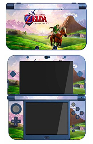 The Legend of Zelda : Ocarina of Time Game Skin for The New Nintendo 3DS XL Console