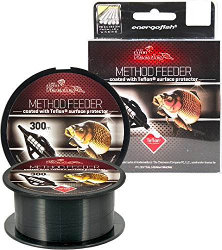 Carp Expert Method Feeder Teflon Schnur 300m 0,22mm 6,35kg Monofile Schnur Mono Feederschnur