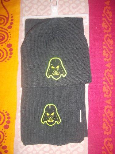 Ensemble bonnet, écharpe Dark vador Star Wars 2012 Lucasfilm Ltd. & TM Gris Taille 122/152-54/56