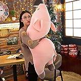 KXCAQ 40-100cm Cerdo Gigante Durmiente de Peluche Juguetes Suaves Chico Lindo Cerdo Creativo Animal muñeco de Peluche bebé Lindo Juguete niñas Regalo de cumpleaños 100CM