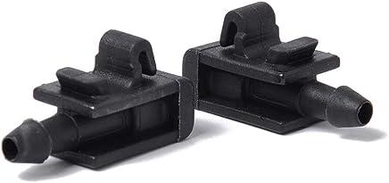 Eleganantamazing - 1 par de boquillas para limpiaparabrisas Delantero de Coche Jet 8200082347 para Renault Megane